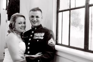 My Marine and his Lovely Bride!