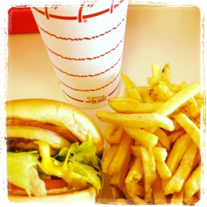 in n out food