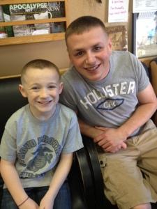 jack and nathan haircuts