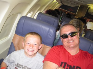 001 Jack and Daddy on plane