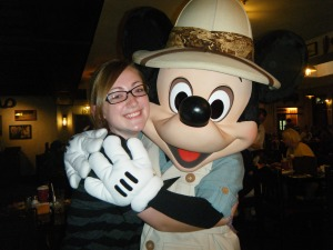 054b Grace with Mickey