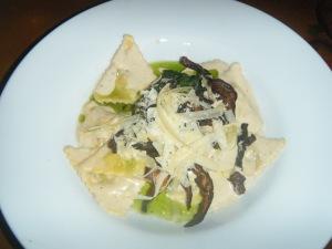 Mushroom Stuffed Pasta